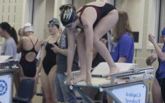 Lady Indians swimmers take third in first meet at Salina